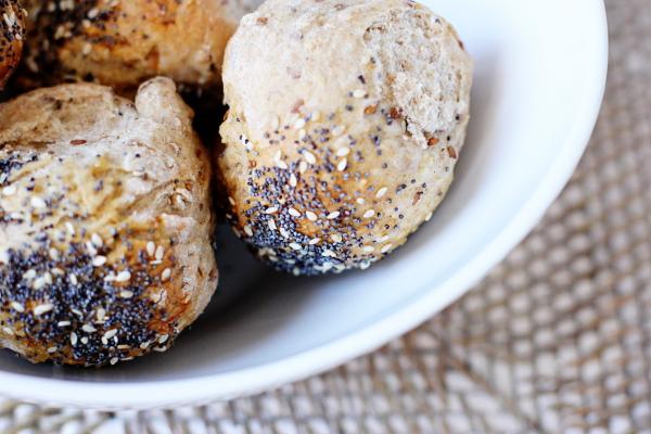 Multigrain Rolls - Cook Nourish Bliss