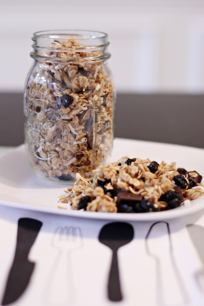 Berry Chocolate Coconut Granola