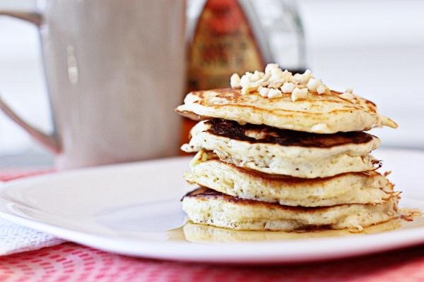Macadamia Nut Pancakes