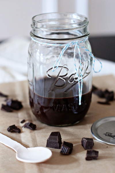 Homemade Hot Fudge Sauce
