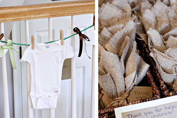 rustic onesie themed baby shower that s twice as nice cookie