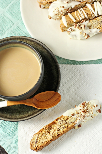 Maple Pecan Biscotti