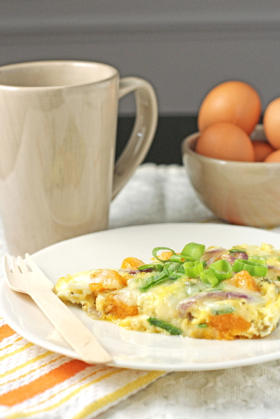Butternut Squash and Gruyere Frittata