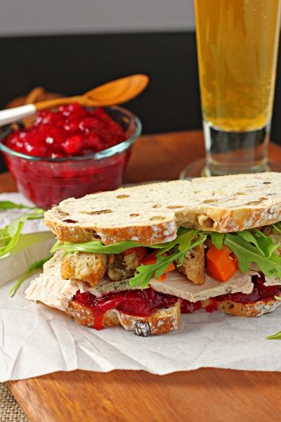 "Thanksgiving ""Gobbler"" Sandwich"