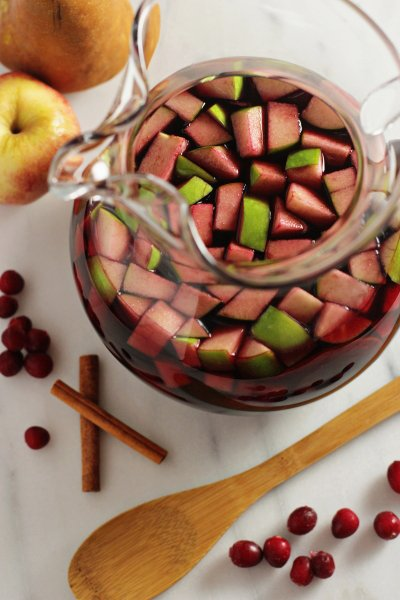 Pomegranate Cranberry Sangria