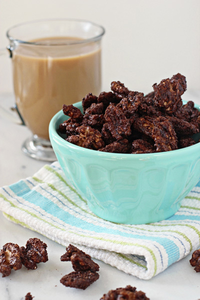 Cocoa espresso roasted nuts