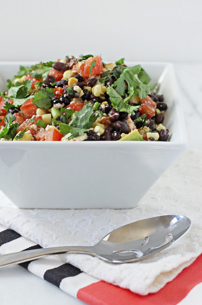 Southwestern Black Bean Salad - Cook Nourish Bliss