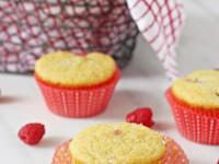 Raspberry Cornbread Muffins | Cookie Monster Cooking