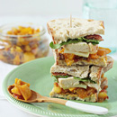 Chicken, Bacon and Mango Chutney Sandwich
