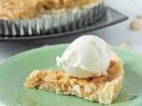 Macadamia Caramel Tart | Cookie Monster Cooking