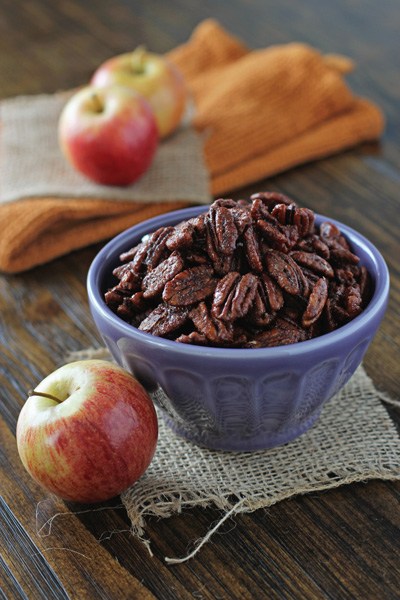 Apple Pie Spiced Pecans | Cookie Monster Cooking