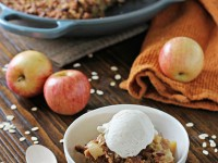 Skillet Apple Crisp | Cookie Monster Cooking
