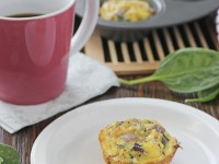 Spinach and Sun-Dried Tomato Frittata Muffins   Cookie Monster Cooking