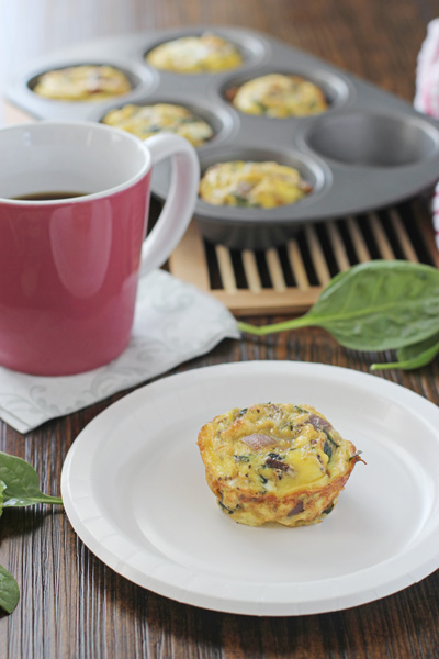 Spinach and Sun-Dried Tomato Frittata Muffins - Cook ...