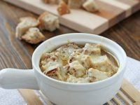 Crockpot French Onion Soup | Cookie Monster Cooking