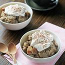 Crockpot Tiramisu Bread Pudding