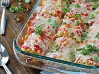 Mexican Lasagna Roll-Ups | Cookie Monster Cooking