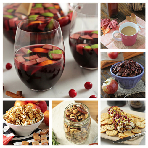 Thanksgiving Appetizer and Drink Ideas | Cookie Monster Cooking