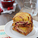 Cranberry Bacon Grilled Cheese
