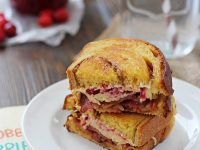 Cranberry Bacon Grilled Cheese | Cookie Monster Cooking