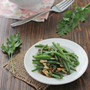 Green Beans with Almonds and Shallots