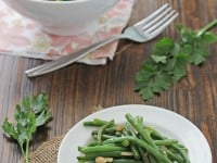 Green Beans with Almonds and Shallots | Cookie Monster Cooking