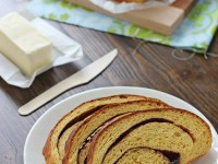 Pumpkin Cinnamon Swirl Bread | Cookie Monster Cooking
