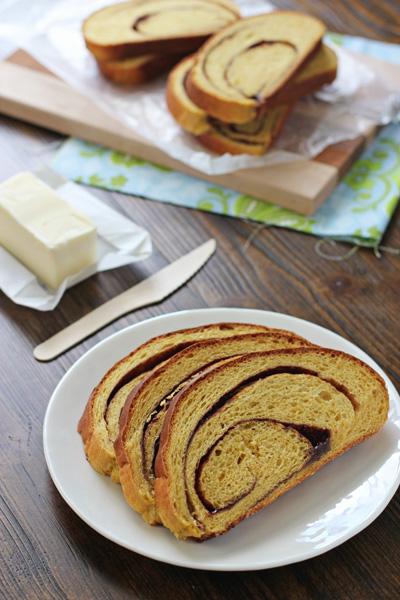 Pumpkin Cinnamon Swirl Bread | Cookie Monster Cooking