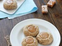 Caramel Latte Thumbprint Cookies   Cookie Monster Cooking