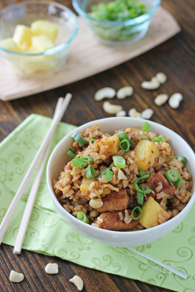 Pineapple Pork Fried Rice | Cookie Monster Cooking