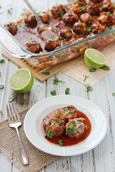 Enchilada Stuffed Mushrooms   cookiemonstercooking.com