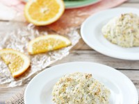 Orange Poppy Seed Scones | cookiemonstercooking.com