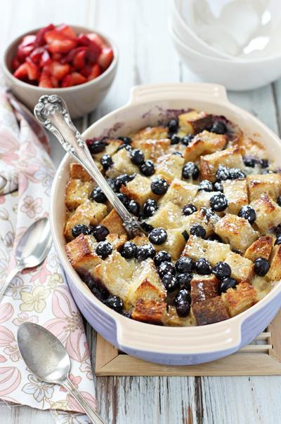 Berries and Brie Breakfast Bake   cookiemonstercooking.com