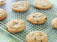 Lime and Dark Chocolate Chunk Cookies | cookiemonstercooking.com