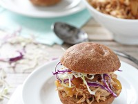 Crockpot Honey Bourbon Chicken | cookiemonstercooking.com