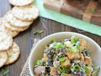 "Sweet Potato and Black Bean ""Chicken"" Salad 