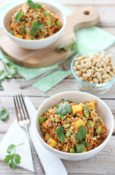Thai Barley Salad   cookiemonstercooking.com