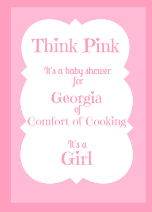 Think Pink Baby Shower