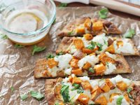 Roasted Sweet Potato and Brown Butter Flatbreads | cookiemonstercooking.com