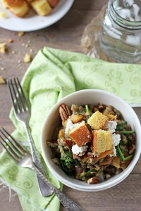 Fall Lentil Salad with Butternut Squash and Goat Cheese - Cook Nourish ...