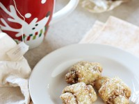 Grandma's Butter Horns (Brown Sugar Walnut Rugelach) | cookiemonstercooking.com