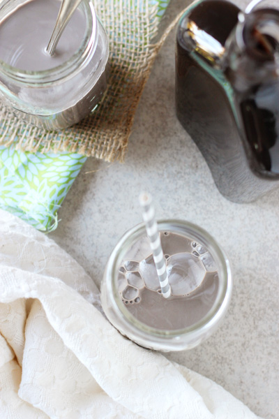 Homemade Chocolate Syrup | cookiemonstercooking.com