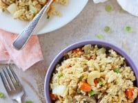 Our Favorite Vegetable Fried Rice | cookiemonstercooking.com