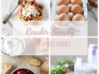 First-Ever Reader Survey