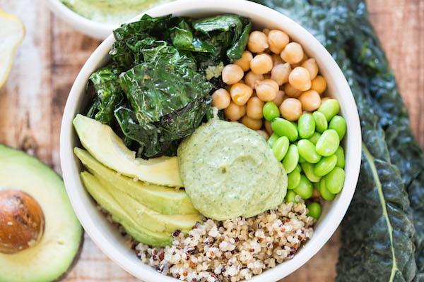 Green Goddess Quinoa Bowls