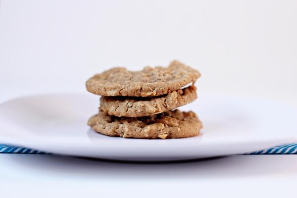 Biscoff Oatmeal Cookies