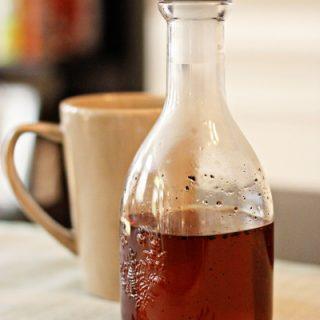 Homemade Vanilla Syrup