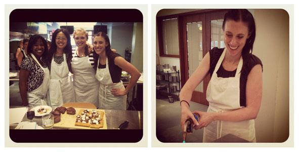 Staff Retreat 2012 - Cooking Class at CulinAerie