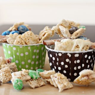 Gluten-Free White Chocolate Snack Mix