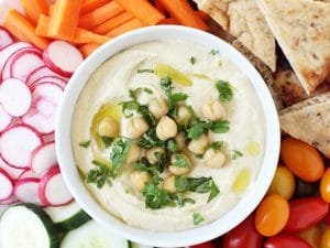 Dreamy restaurant-style hummus! Perfectly smooth, creamy and easy to make! Great for snacking or parties!